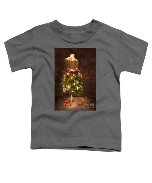 Victorian Festive Christmas  Toddler T-Shirt