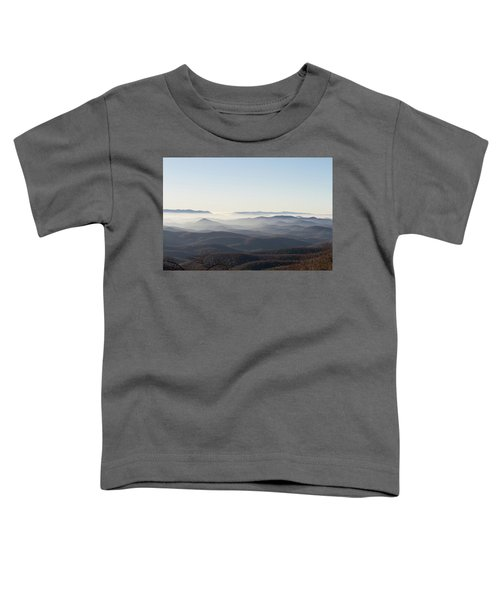 View From Blood Mountain Toddler T-Shirt