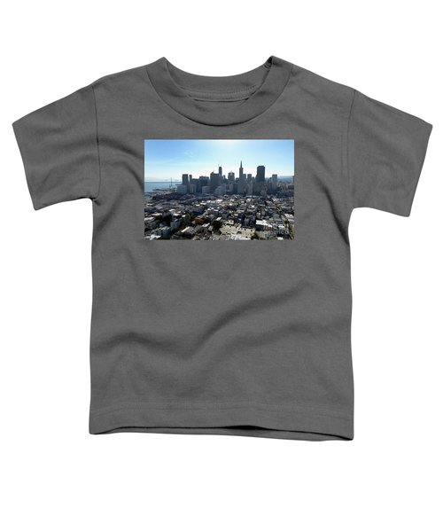 View From Coit Tower Toddler T-Shirt