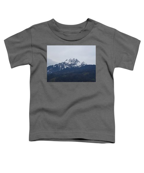 View From My Art Studio - Pilatus - March 2018 Toddler T-Shirt