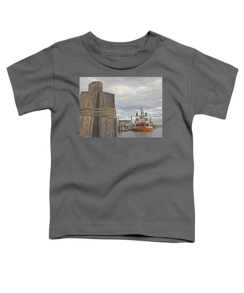 View From The Pilings Toddler T-Shirt