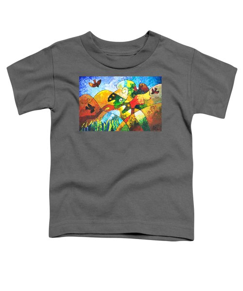 View From Valley Road Toddler T-Shirt
