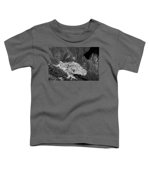 View Of Machu Picchu From The Inca Trail Toddler T-Shirt