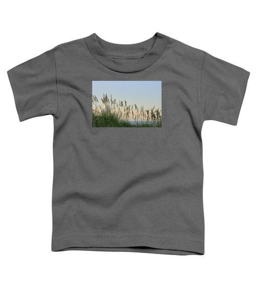 View Through The Sea Oats Toddler T-Shirt