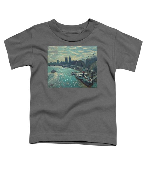 View To Westminster London Toddler T-Shirt
