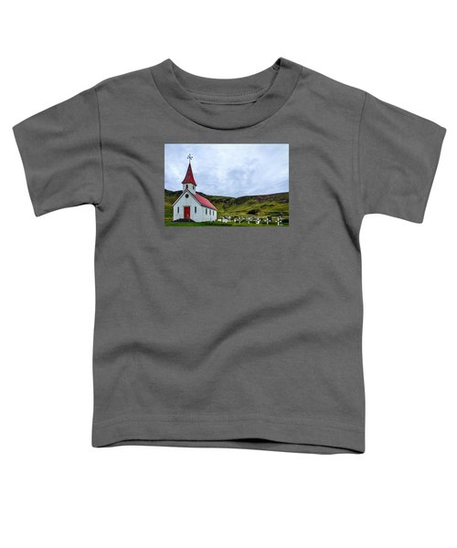 Vik Church And Cemetery - Iceland Toddler T-Shirt