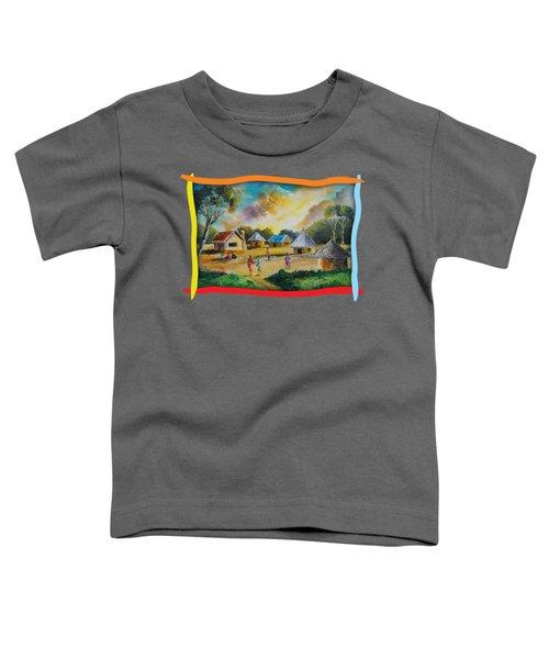 Village Life Toddler T-Shirt