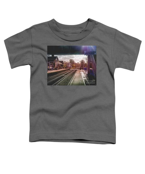 The Village Train Station Toddler T-Shirt