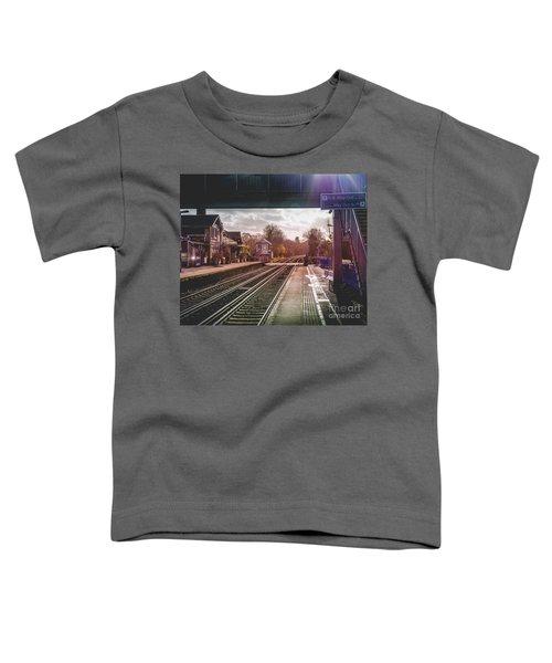 The Village Train Station Toddler T-Shirt