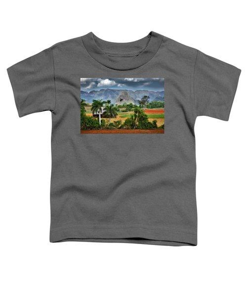 Vinales. Pinar Del Rio. Cuba Toddler T-Shirt