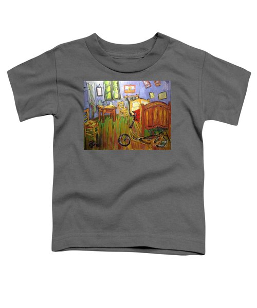 Vincent Van Go's Bedroom Toddler T-Shirt