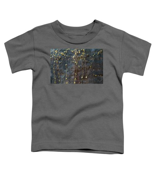 Toddler T-Shirt featuring the photograph Vines On Rock, Bhimbetka, 2016 by Hitendra SINKAR