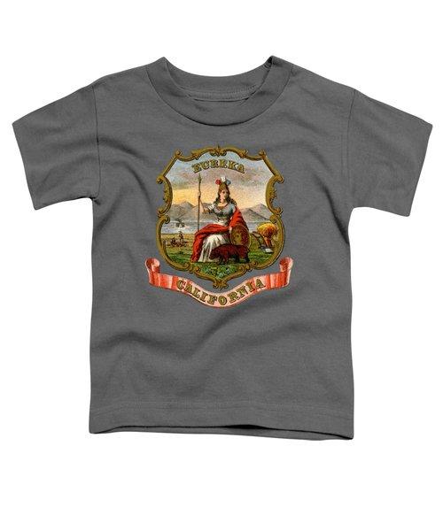 Vintage California Coat Of Arms Toddler T-Shirt