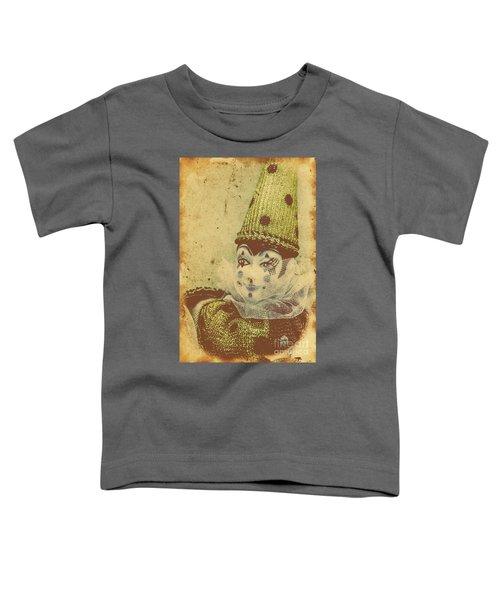 Vintage Circus Postcard Toddler T-Shirt