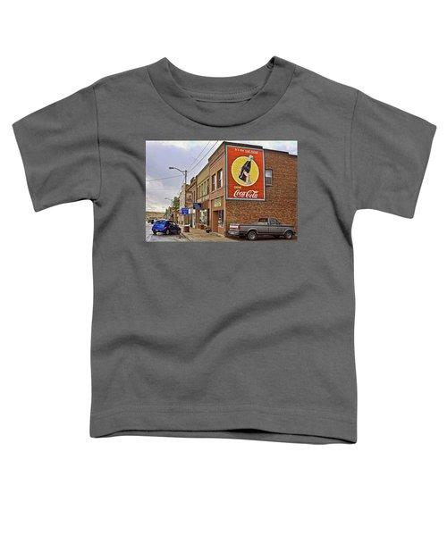Vintage Coca Cola Sign Toddler T-Shirt
