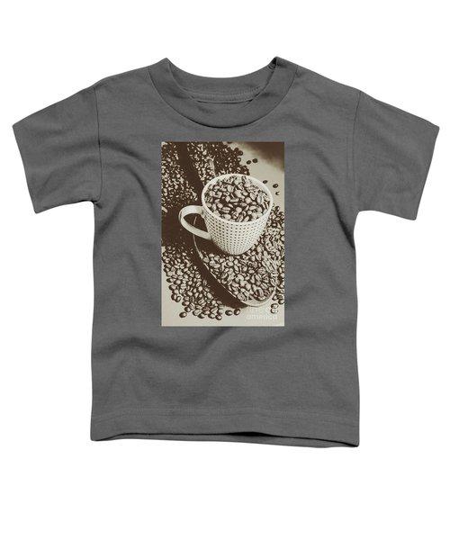Vintage Coffee Art. Stimulant Toddler T-Shirt
