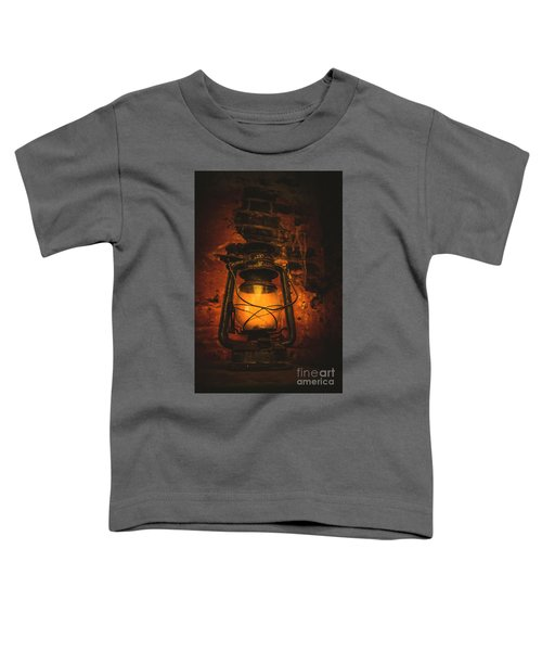 Vintage Colonial Lantern Toddler T-Shirt