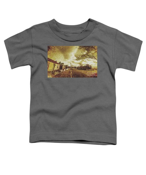 Vintage Colonial Street Toddler T-Shirt