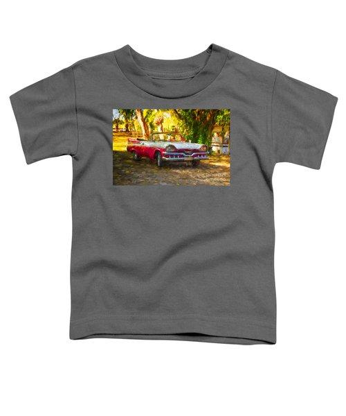 Vintage Dodge Custom Royal 1957 Toddler T-Shirt