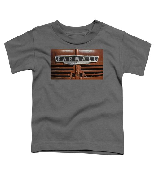 Vintage Farmall Tractor Toddler T-Shirt