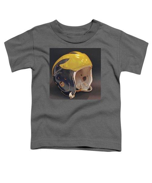 Vintage Leather Wolverine Helmet Toddler T-Shirt