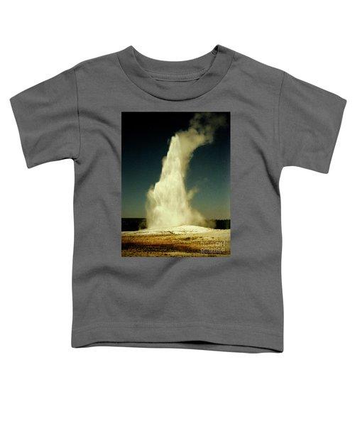 Vintage Old Faithful Toddler T-Shirt