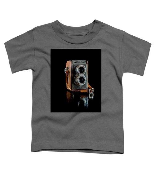 Vintage Ricohflex Camera Toddler T-Shirt