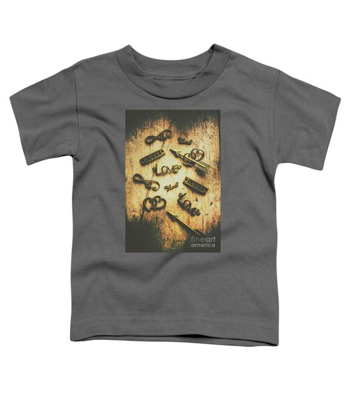 Vintage Romance Toddler T-Shirt