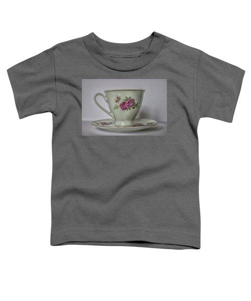 Vintage Teacup Toddler T-Shirt