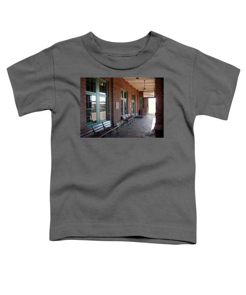 Visitors Center Train Station Toddler T-Shirt