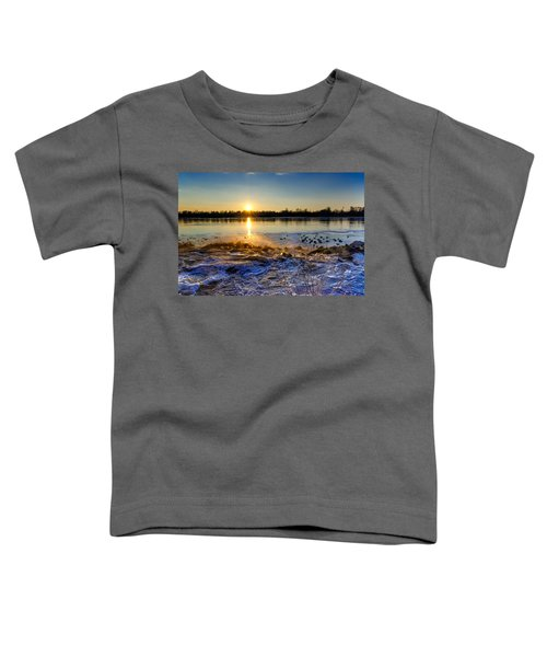 Vistula River Sunset 3 Toddler T-Shirt