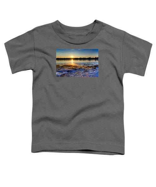 Vistula River Sunset 3 Toddler T-Shirt