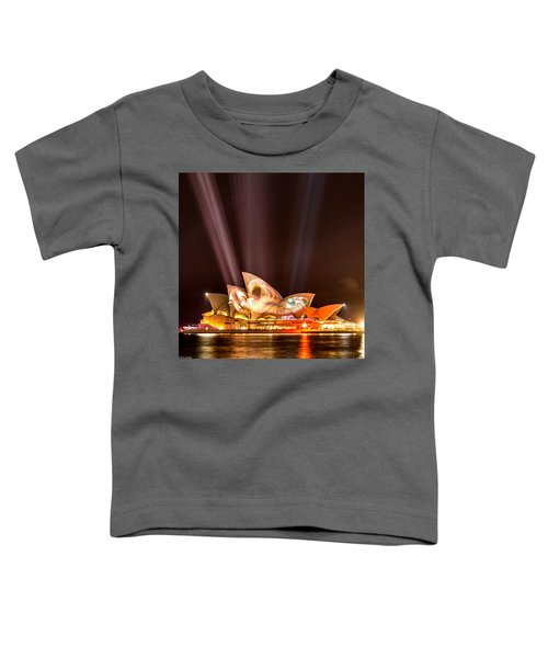 Vivid Opera House Toddler T-Shirt
