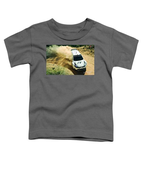 Volkswagen Polo Rally Toddler T-Shirt