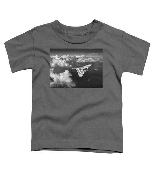 Vulcan Catching The Light Black And White Toddler T-Shirt