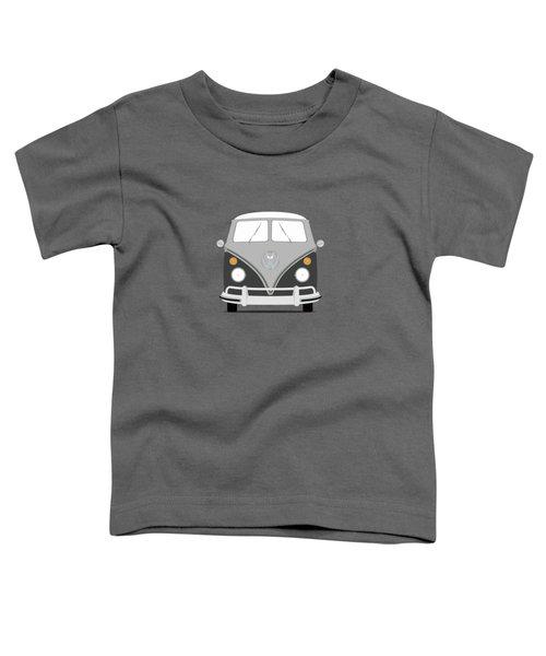 Vw Bus Grey Toddler T-Shirt by Mark Rogan