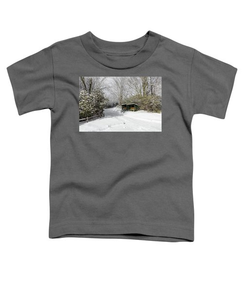 Wagon Wheels And Firewood Toddler T-Shirt