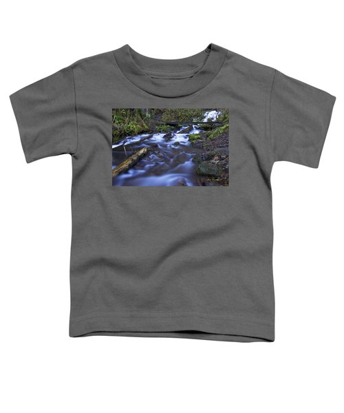 Wahkeena Creek Bridge # 5 Signed Toddler T-Shirt