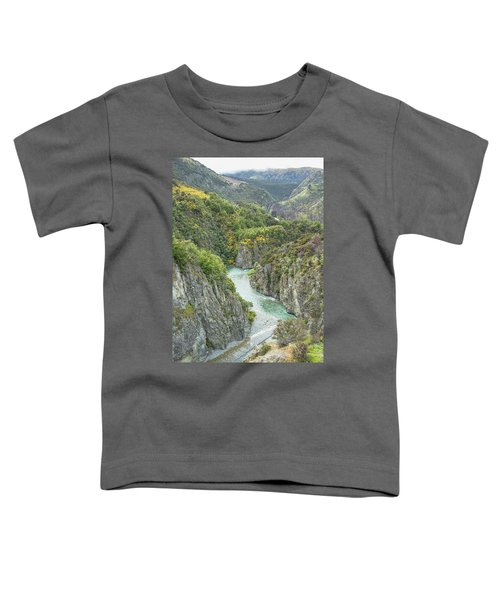 Waimakariri Gorge Toddler T-Shirt