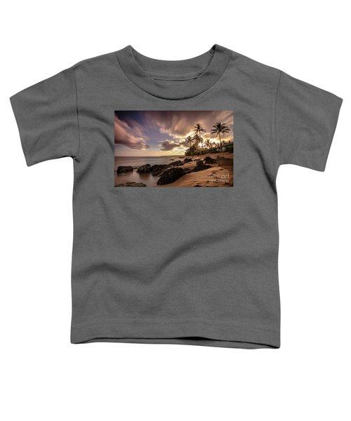 Wainiha Kauai Hawaii Sunrise  Toddler T-Shirt