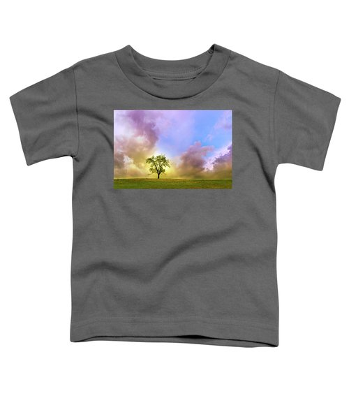 Waiting For The Storm Toddler T-Shirt