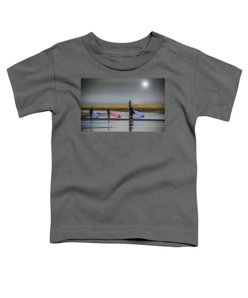 Waiting For The Surf Toddler T-Shirt