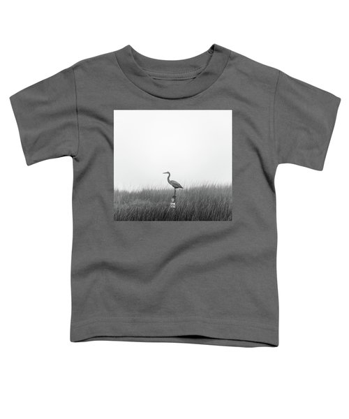Waiting On The Fog To Clear Toddler T-Shirt