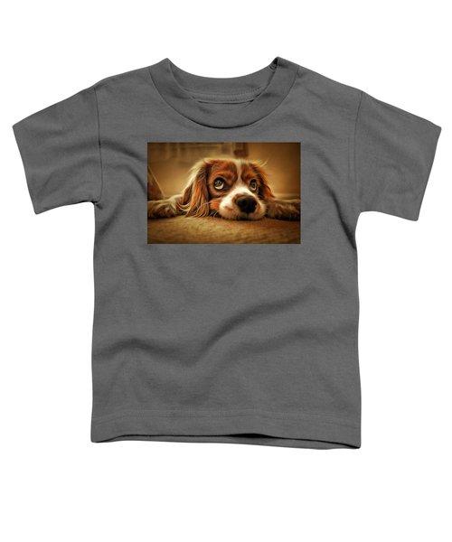 Waiting Pup Toddler T-Shirt