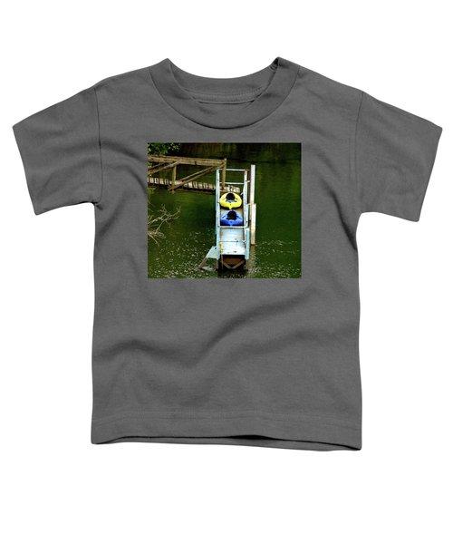 Waiting To Kayak Toddler T-Shirt