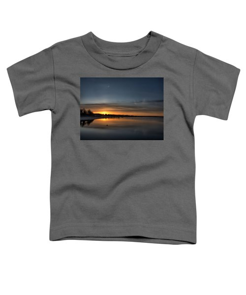 Waking To A Cold Sunrise Toddler T-Shirt