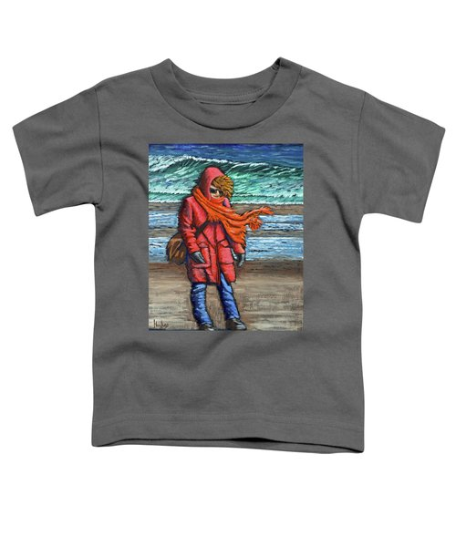 Walk On Beach Toddler T-Shirt