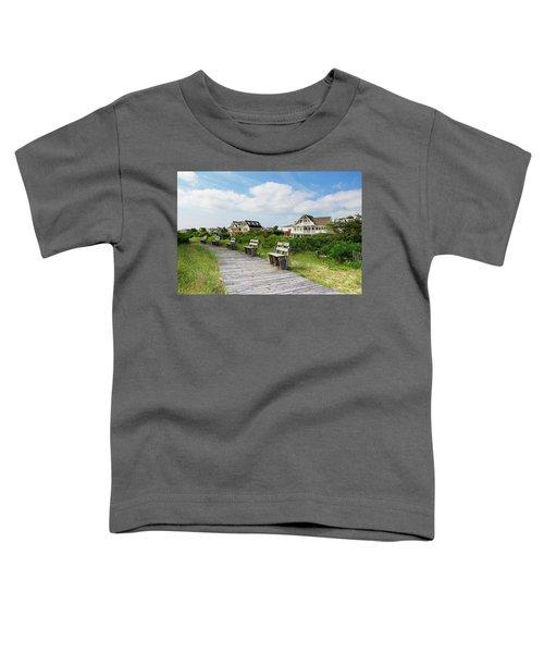 Walk Through The Dunes Toddler T-Shirt