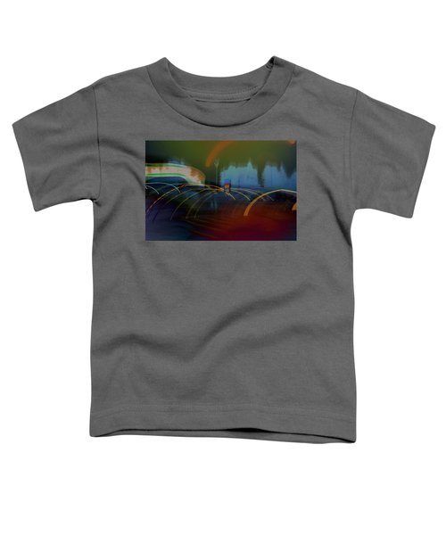Walking In Carnival Lights Toddler T-Shirt