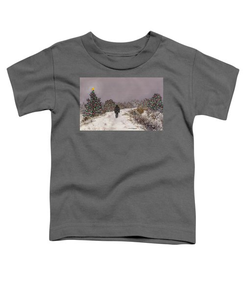 Walking Into The Light Toddler T-Shirt